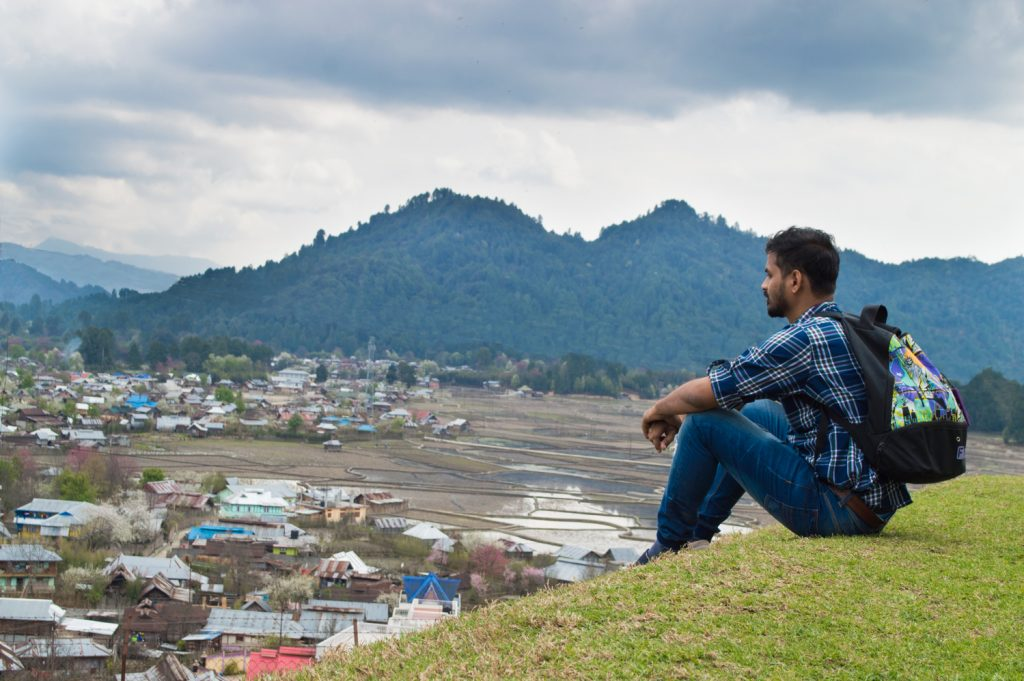 Kile Pakho is a high hilly point in old Ziro