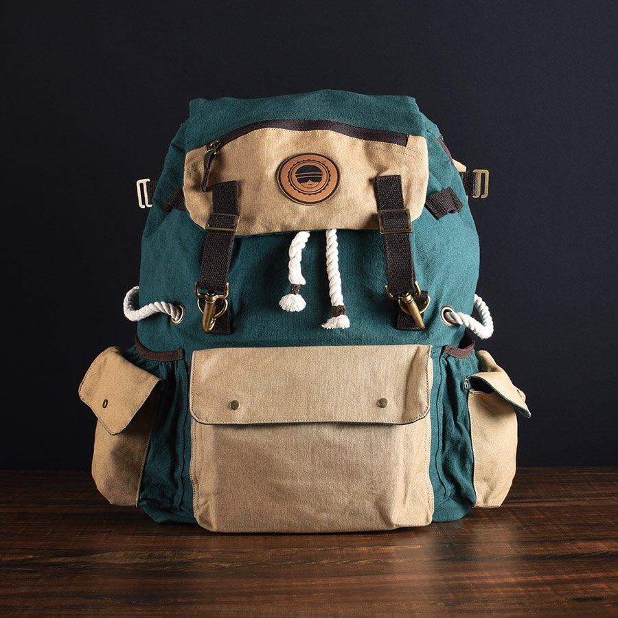 Canvas Backpack Bombay Trooper
