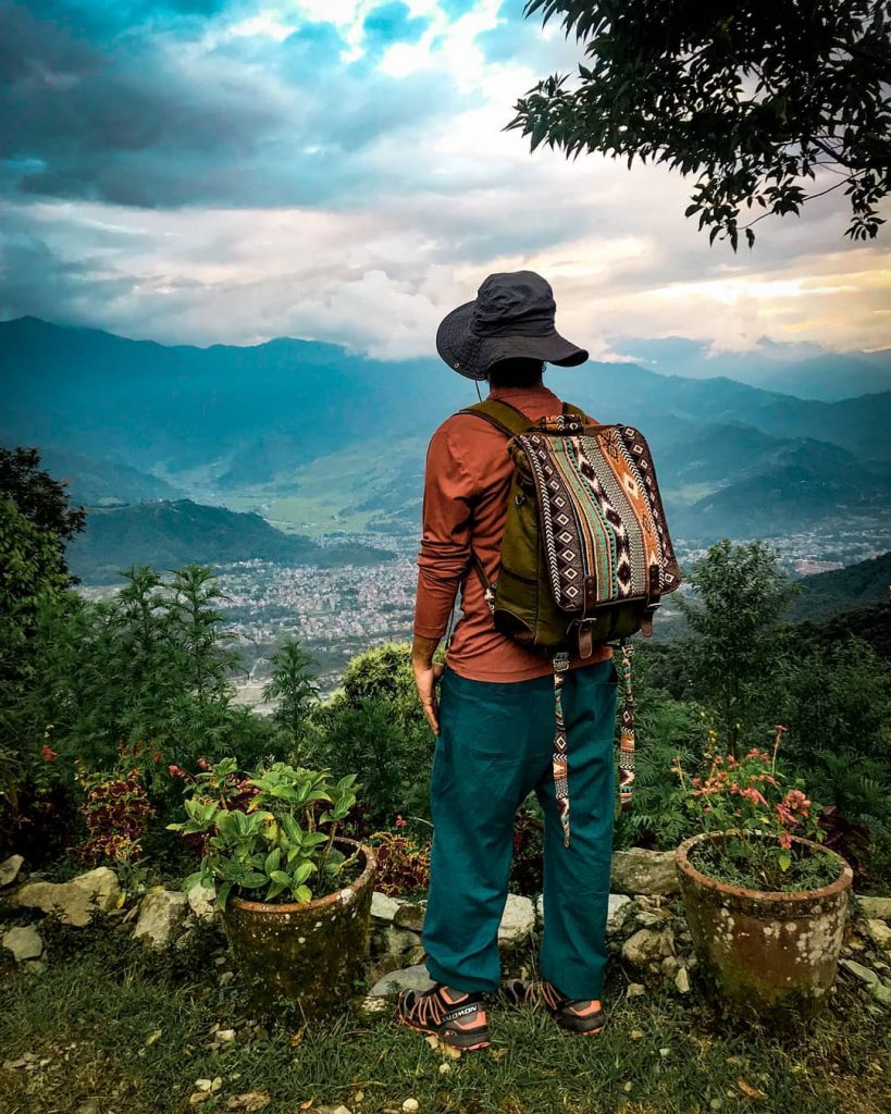 The Firangi- Artisanal Backpack: Best for festivals and organized tours.