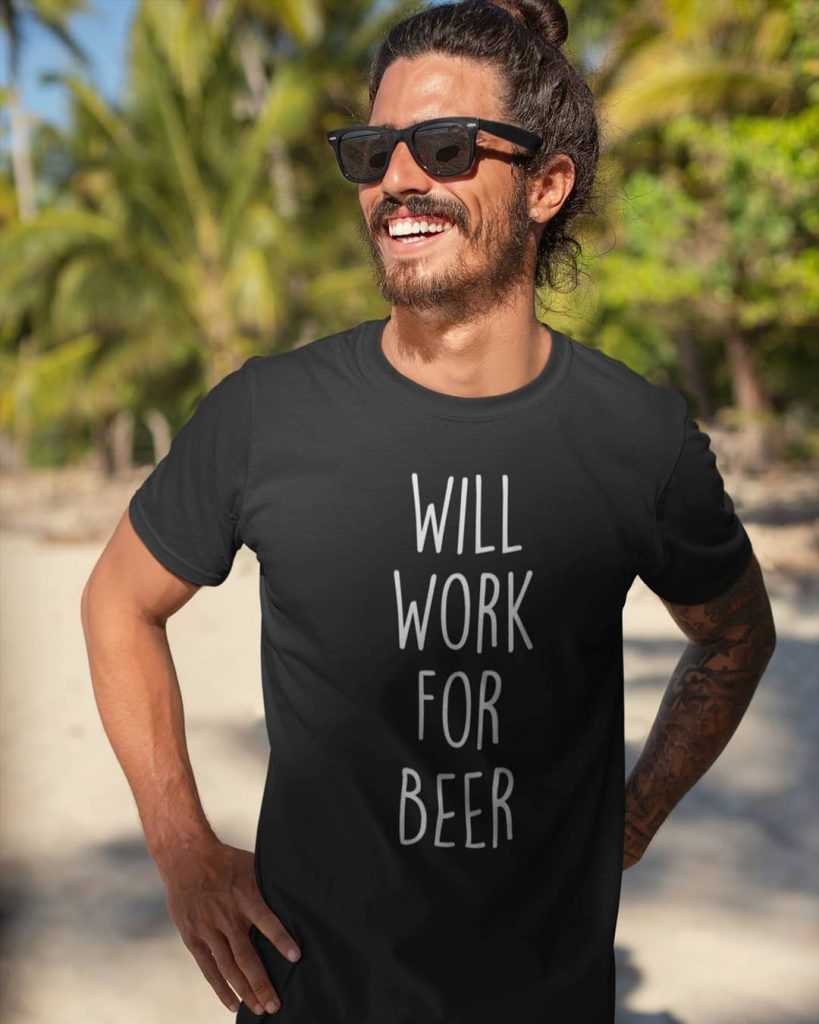 Beer lover t-shirt.  Graphic T-shirts for Men & Women