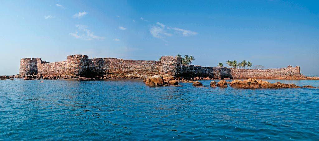 Sindhudurg Fort and its walls