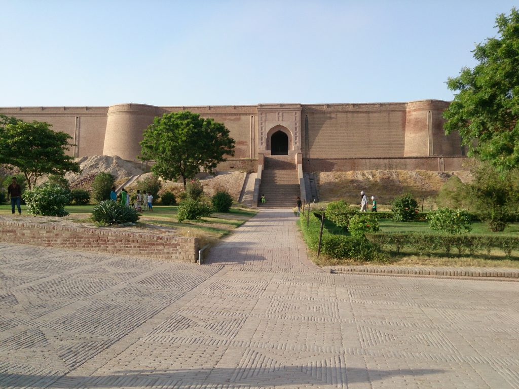 Front side of Qila Mubarak
